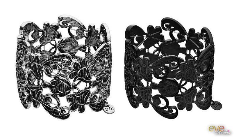 مجوهرات عصرية وغريبة باللون الاسود 2021