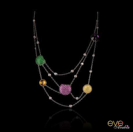 مجوهرات من الالماس لصيف 2021